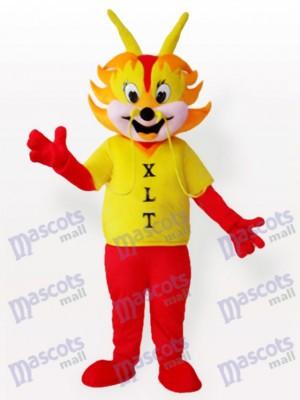 Hombre Continuar Amarillo Adulto Disfraz de mascota