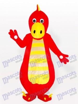 Continuar rojo gordo adulto Disfraz de mascota