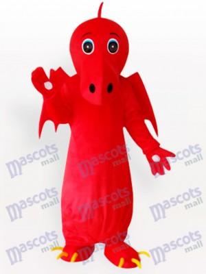 Continuar chino rojo adulto Disfraz de mascota