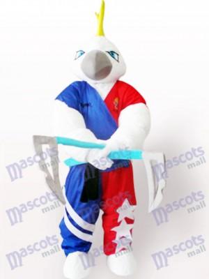 Águila de músculo fuerte adulto Disfraz de mascota