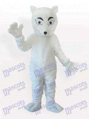 Zorro Polar Blanco Adulto Disfraz de mascota