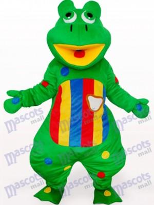 Rana con vientre colorido Disfraz de mascota