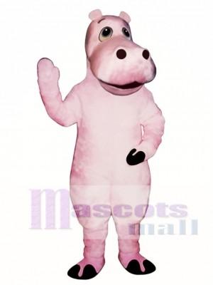 Hipopótamo rosa Heidi Disfraz de mascota