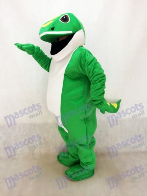 Gecko verde Disfraz de mascota animal