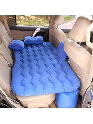 Cama inflable universal para asiento de automóvil con 2 almohadas de aire, tapete de picnic