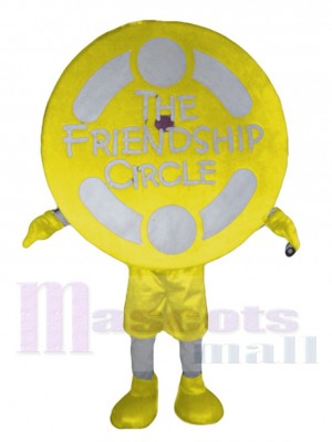 Círculo de amistad disfraz de mascota