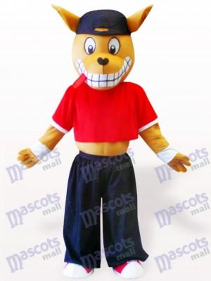Canguro de madera deportivo Disfraz de mascota Animal