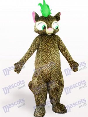 Hermoso leopardo adulto Disfraz de mascota Animal