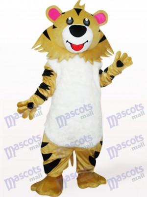 León gris y marrón Disfraz de mascota Animal