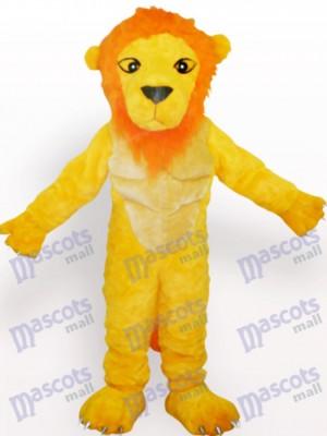 León amarillo lindo Disfraz de mascota Animal