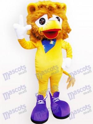 Animal León Amarillo Disfraz de mascota