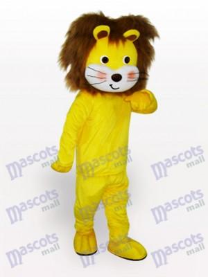 León amarillo brillante Disfraz de mascota Animal