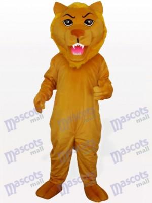 León de empuje amarillo Disfraz de mascota Animal
