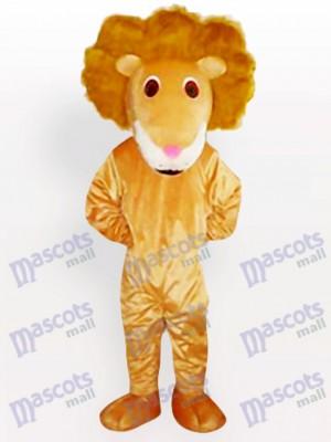 León de Cabello Curvado Disfraz de mascota Animal