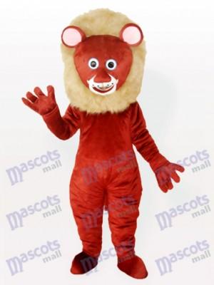 León macho marrón adulto Disfraz de mascota Animal