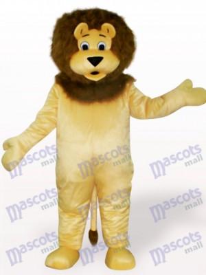 León marrón claro Disfraz de mascota Animal