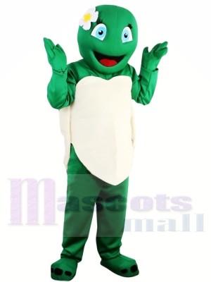 Venta caliente Tortuga Tortuga Verde Chica Disfraz de mascota