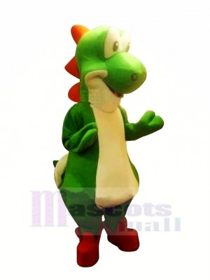 Dinosaurio Mario Yoshi Disfraz de mascota