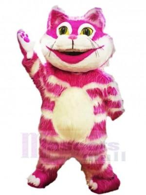 Divertido gato de Cheshire rosa Disfraz de mascota animal