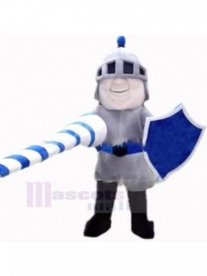 Azul Competitivo Caballero Disfraz de mascota personas