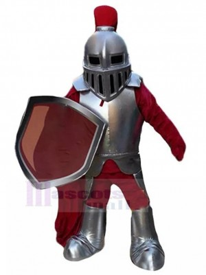 Medieval Coracero Caballero Disfraz de mascota Personas