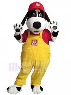 Inicio Hardware Handy Dog Disfraz de mascota Animal con mono amarillo