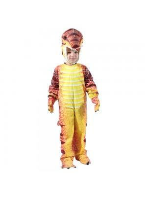 Mono rojo T-Rex para niño