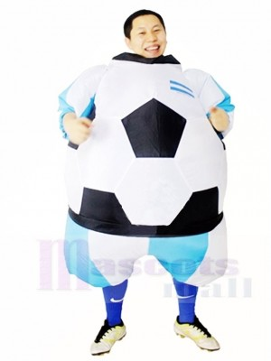 Fútbol argentino Traje inflable