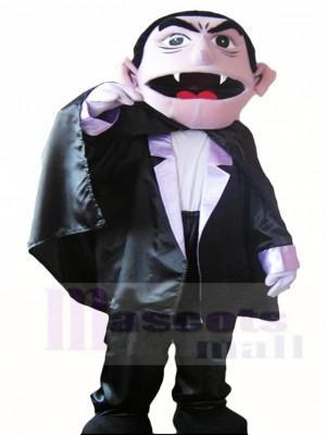 Barrio Sésamo, el Conde Von Vampiro Disfraz de mascota
