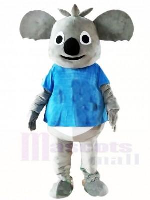 Camisa Azul Oso Koala Disfraz de mascota