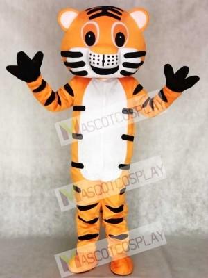Tigre rojo adulto Disfraz de mascota animal