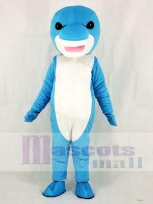 Tiburón azul Disfraz de mascota