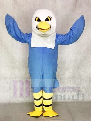 Águila azul Disfraz de mascota