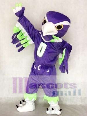 Seattle Seahawks Blitz el Halcón marino púrpura Disfraz de mascota