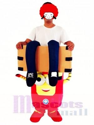 Hombre de Acero Disfraz de mascota