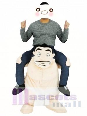Luchador de sumo japonés Disfraz de mascota