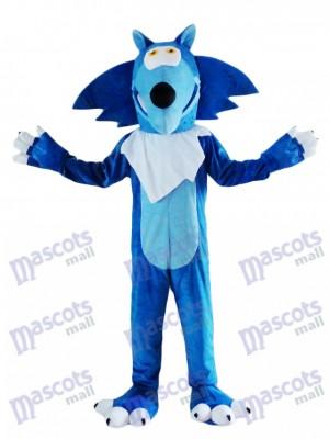 Coyote lobo azul Disfraz de mascota animal