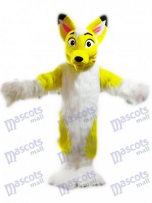 Zorro Perro Husky Amarillo Disfraz de mascota