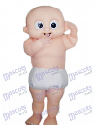 Ojos grandes bebe Disfraz de mascota