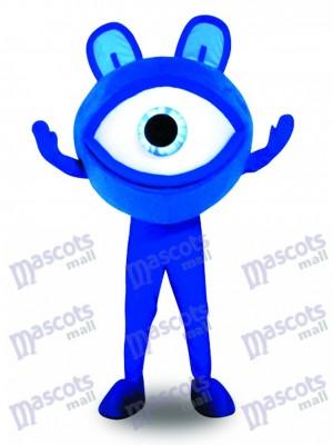 Publicidad de protección de la vista de anteojos azules Disfraz de mascota