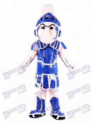 Caballero de Troya espartano azul Sparty Disfraz de mascota
