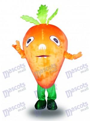 Zanahoria naranja Disfraz de mascota Vegetal