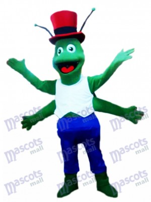 Saltamontes verdes Disfraz de mascota Insecto