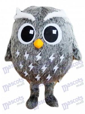 Pájaro búho gris Disfraz de mascota animal