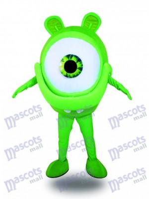 Publicidad de protección visual de anteojos verdes Disfraz de mascota