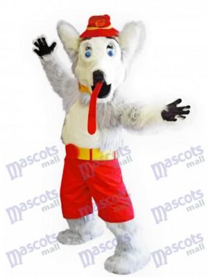Perro Harvey el sabueso Llamas de Calgary Disfraz de mascota animal