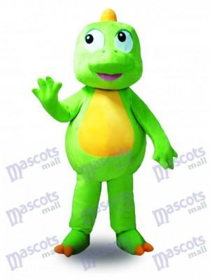 Continuar verde Panza amarilla Disfraz de mascota animal