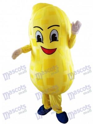 Maní amarillo Disfraz de mascota Planta de alimentos