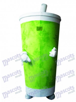Vaso de Bebidas con Vaso Sippy Verde Disfraz de mascota