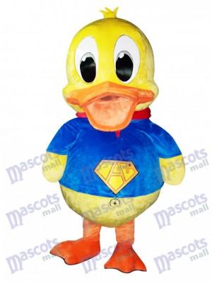 Pato de traje azul Disfraz de mascota animal